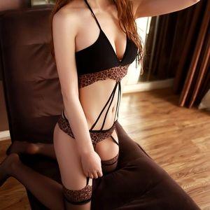 Miss Babydoll Intimates & Sleepwear - ❤️NEW Sexy Leopard Bodystocking Lingerie L042